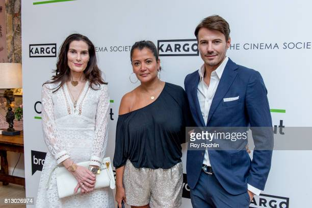 Jennifer Creel Keytt Lundqvist and Alex Lundqvist attend The Cinema Society and Kargo host the season 3 Premiere Of Bravo's 'Odd Mom Out' at the...