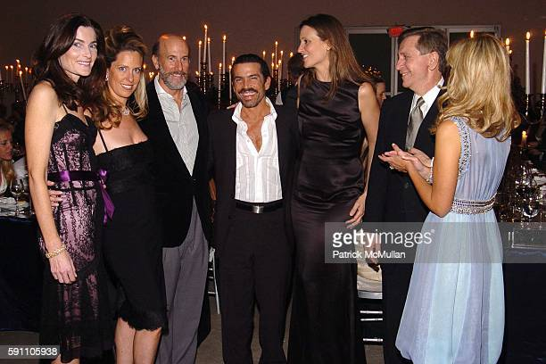 Jennifer Creel Simone Levinson David Levinson Willy Lima Stephanie Wolkoff Wayne Linker and Heather Mnuchin attend The New York Academy of Art...