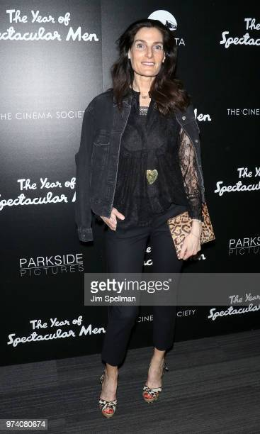 Jennifer Creole attends the screening of 'The Year Of Spectacular Men' hosted by MarVista Entertainment and Parkside Pictures with The Cinema Society...