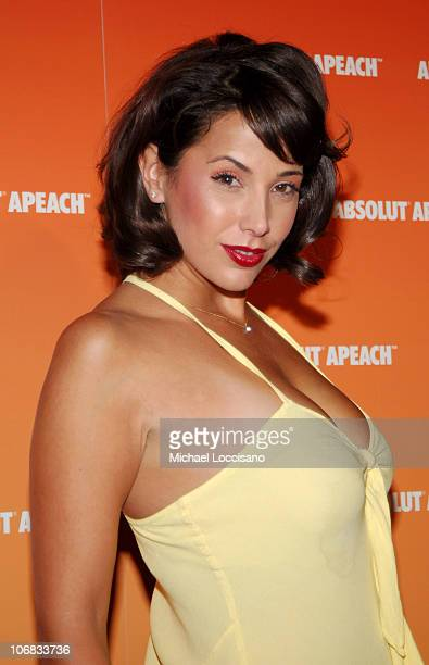 Jennifer Crisafulli during Desperate Housewife Nicollette Sheridan Joins ABSOLUT to Host the Launch of their New Flavor APEACH at Koi at the Bryant...
