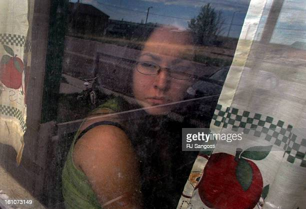 BROWNING MONTANA Jennifer Crossguns looks out her apartment window on the Blackfeet Reservation in Browning MO Crossguns was raped but authorities...