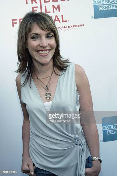 Jennifer Crystal Foley attends the premiere of My Uncle Berns during the Tribeca Film Festival at UA Battery Park May 6 2004 in New York City