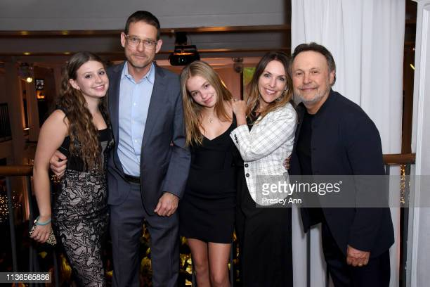 Jennifer Crystal Foley Billy Crystal and family attend the Opening Night Gala at the 2019 10th Annual TCM Classic Film Festival on April 11 2019 in...
