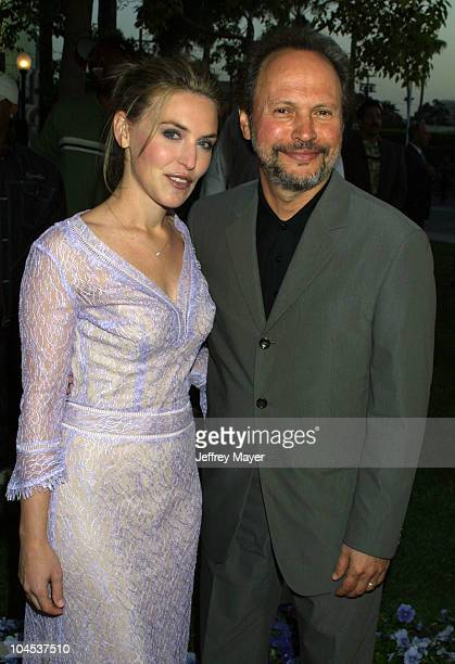 Jennifer Crystal Foley Billy Crystal during 61* Premiere HBO Films at Paramount Lot in Hollywood California United States