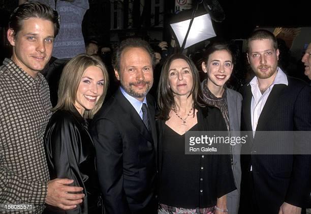 Jennifer Crystal Husband Michael Foley Billy Crystal Janice Crystal Lindsay Crystal and Boyfriend