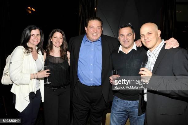 Jennifer Curtis Lisa Corrado Alex Corrado Anthony Davi and Joey Rappa attend WATER WALL Restaurant Hosts Tribeca Film Festival Screening of GET LOW...