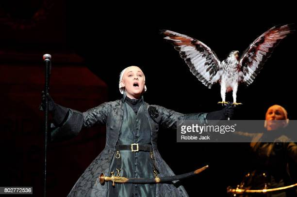 Jennifer Davis as Arbate in the Royal Opera's Production Of Wolfgang Amadeus Mozart's Mitridate re di Ponto directed by Graham Vick and conducted by...