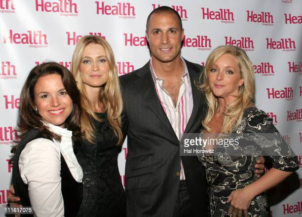 Jennifer Deans Publisher of Health Magazine Kelly Rowan Nigel Barker and Jane Krakowski