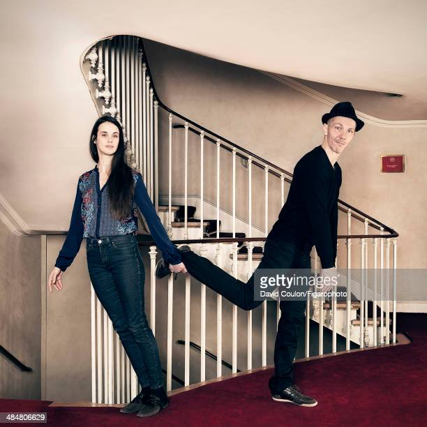 108878006 Jennifer Decker and Pierre Notte are photographed for Madame Figaro on March 11 2014 in Paris France PUBLISHED IMAGE CREDIT MUST READ David...