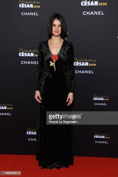 Jennifer Decker attends the Cesar Revelations 2020 Photocall at Petit Palais on January 13 2020 in Paris France