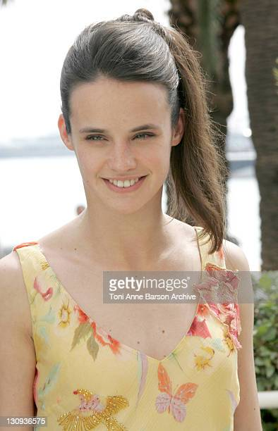 Jennifer Decker during 2005 Cannes Film Festival Flyboys Press Conference at Martinez Hotel in Cannes France