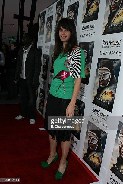 Jennifer Decker during MGM and Electric Entertainment presents a special screening of Flyboys at Academy of Motion Pictures Arts Sciences in Beverly...