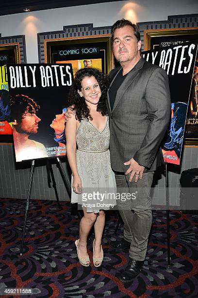 Jennifer DeLia and Burton Machen attend the BILLY BATES LA Premiere Directed By Jennifer DeLia Starring James Wirt And Savannah Welchl Produced By...