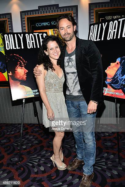 Jennifer DeLia and James Wirt attend the BILLY BATES LA Premiere Directed By Jennifer DeLia Starring James Wirt And Savannah Welchl Produced By Julie...