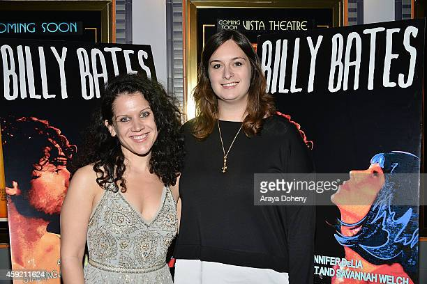 Jennifer DeLia and Julie Pacino attend the BILLY BATES LA Premiere Directed By Jennifer DeLia Starring James Wirt And Savannah Welchl Produced By...