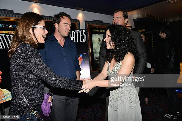 Jennifer DeLia attends the BILLY BATES LA Premiere Directed By Jennifer DeLia Starring James Wirt And Savannah Welchl Produced By Julie Pacino at Los...