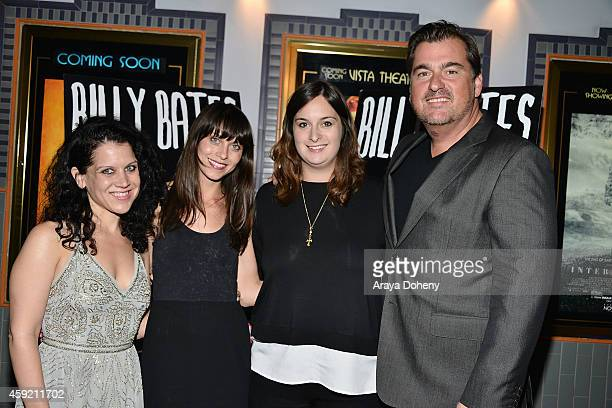 Jennifer DeLia Savannah Welch Julie Pacino and Burton Machen attend the BILLY BATES LA Premiere Directed By Jennifer DeLia Starring James Wirt And...