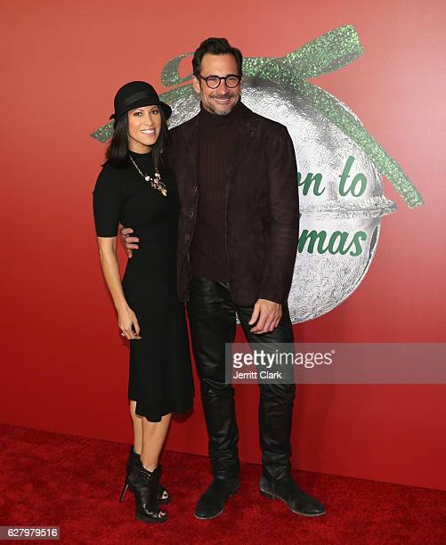 Jennifer Dorogi and Lawrence Zarian attend the Screening Of Hallmark Channel's A Nutcracker Christmas at The Grove on December 5 2016 in Los Angeles...