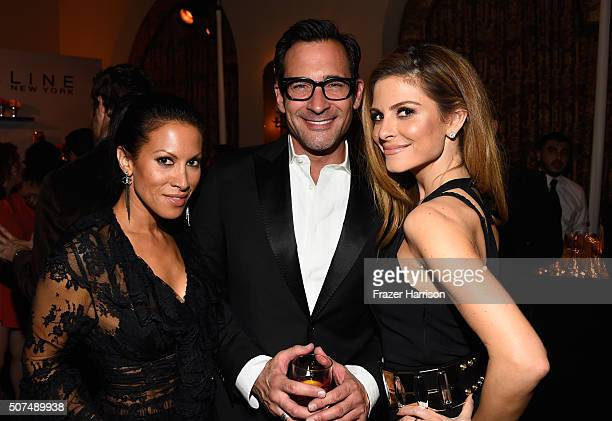 Jennifer Dorogi TV personalities Lawrence Zarian and Maria Menounos attend Entertainment Weekly Celebration Honoring The Screen Actors Guild Awards...