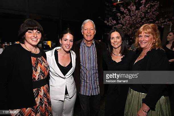 Jennifer Dubin Coro Olsen Richard Chamberlain Anne Renton and Connie Cummings attend The Perfect Family's premiere afterparty at the Tribeca Film...