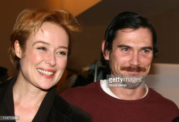 Jennifer Ehle ad Billy Crudup during Shipwreck The Coast of Utopia Part 2 Opening Night Party at Avery Fisher Hall in New York City New York United...