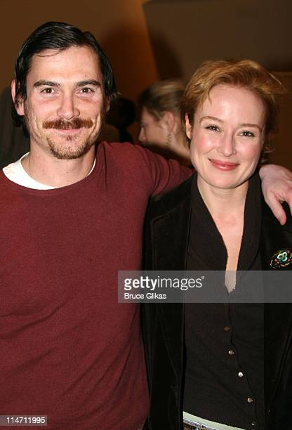 Jennifer Ehle and Billy Crudup during Shipwreck The Coast of Utopia Part 2 Opening Night Party at Avery Fisher Hall in New York City New York United...
