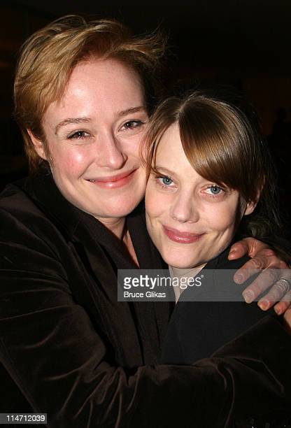 Jennifer Ehle and Kellie Overbey during Shipwreck The Coast of Utopia Part 2 Opening Night Party at Avery Fisher Hall in New York City New York...