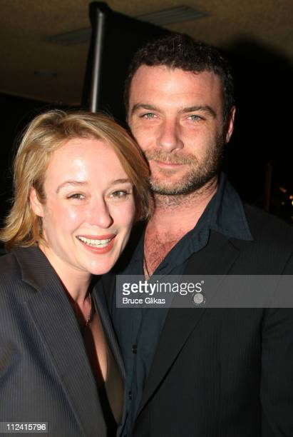 Jennifer Ehle and Liev Schreiber during 2007 Tony Award Nominee Press Reception at The Marriott Marquis in New York New York United States