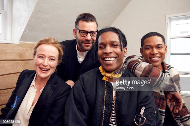 Jennifer Ehle Anthony Mandler A$AP Rocky and Kelvin Harrison Jr from the film 'Monster' poses for a portrait in the YouTube x Getty Images Portrait...