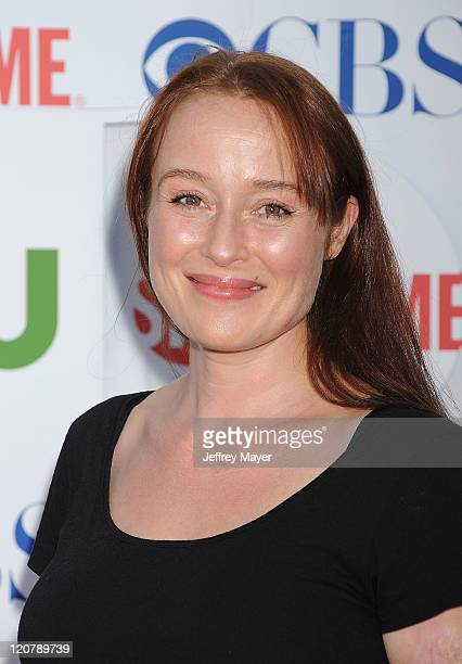 Jennifer Ehle arrives at the TCA Party for CBS, The CW and Showtime held at The Pagoda on August 3, 2011 in Beverly Hills, California.