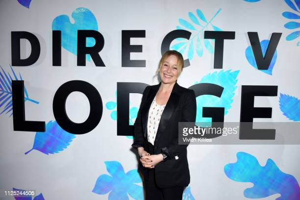 """Jennifer Ehle at the """"The Wolf Hour"""" party at DIRECTV Lodge presented by AT&T at Sundance Film Festival 2019 on January 26, 2019 in Park City, Utah."""