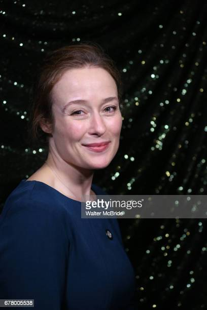 Jennifer Ehle attends the 2017 Tony Awards Meet The Nominees Press Junket at the Sofitel Hotel on May 3 2017 in New York City