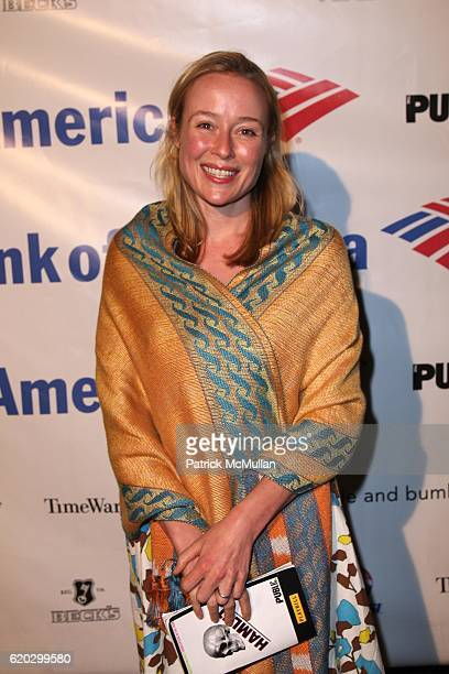 Jennifer Ehle attends The AfterParty for the Opening Night of HAMLET at SHAKESPEARE IN THE PARK at Belvedere Castle on June 17 2008 in New York City
