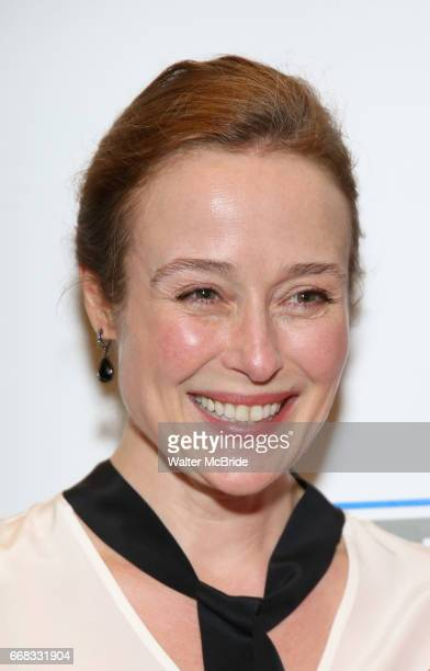 Jennifer Ehle attends the Opening Night Performance press reception for the Lincoln Center Theater production of 'Oslo' at the Vivian Beaumont...