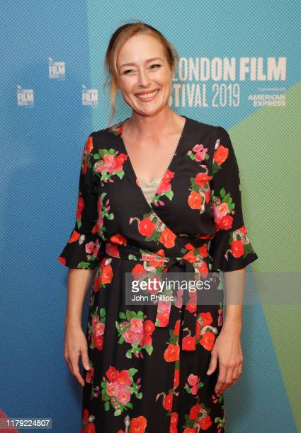"""Jennifer Ehle attends the """"Saint Maud"""" European Premiere during the 63rd BFI London Film Festival at Vue West End on October 05, 2019 in London,..."""