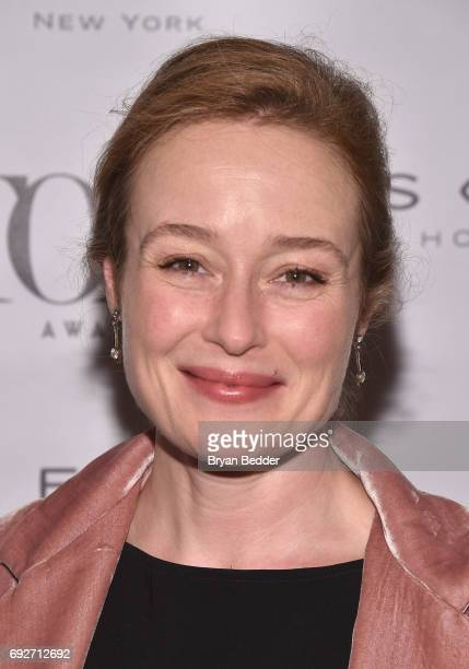 Jennifer Ehle attends the Tony Honors Cocktail Party presenting the 2017 Tony Honors for excellence in the theatre and honoring the 2017 special...