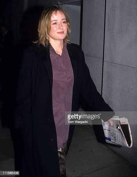 Jennifer Ehle during 1995 Evening Standard Drama Awards in London, Great Britain.