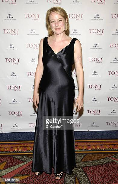 Jennifer Ehle during 61st Annual Tony Awards The Evening Before at Hilton New York in New York City New York United States