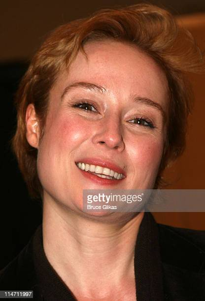 Jennifer Ehle during Shipwreck The Coast of Utopia Part 2 Opening Night Party at Avery Fisher Hall in New York City New York United States