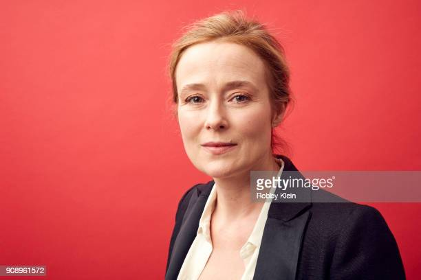Jennifer Ehle from the film the film 'Monster' poses for a portrait in the YouTube x Getty Images Portrait Studio at 2018 Sundance Film Festival on...