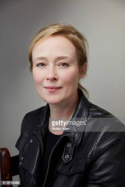 Jennifer Ehle from the film 'The Miseducation of Cameron Post' poses for a portrait in the YouTube x Getty Images Portrait Studio at 2018 Sundance...