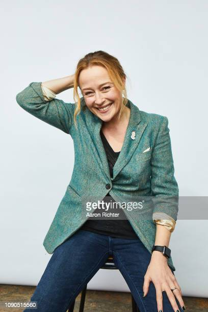 Jennifer Ehle from 'The Wolf Hour' poses for a portrait in the Pizza Hut Lounge in Park City, Utah on January 27, 2019 in Park City, Utah. `