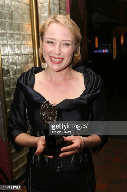 """Jennifer Ehle, winner Best Performance by a Featured Actress in a Play award for """"The Coast of Utopia"""""""