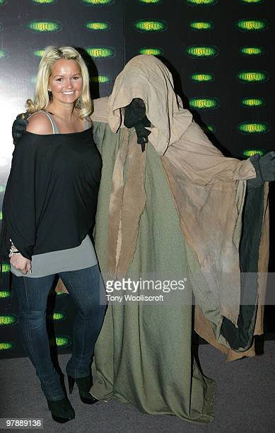 Jennifer Ellison attends the launch party for new ride THI3TEEN at Alton Towers on March 19 2010 in Alton England