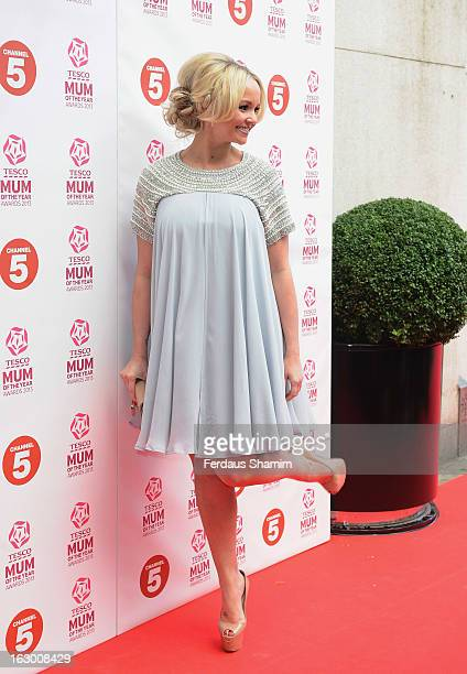 Jennifer Ellison attends the Tesco Mum of the Year awards at The Savoy Hotel on March 3 2013 in London England