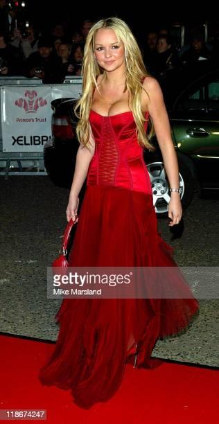 Jennifer Ellison during Fashion Rocks in Aid of The Princes Trust at Royal Albert Hall in London United Kingdom