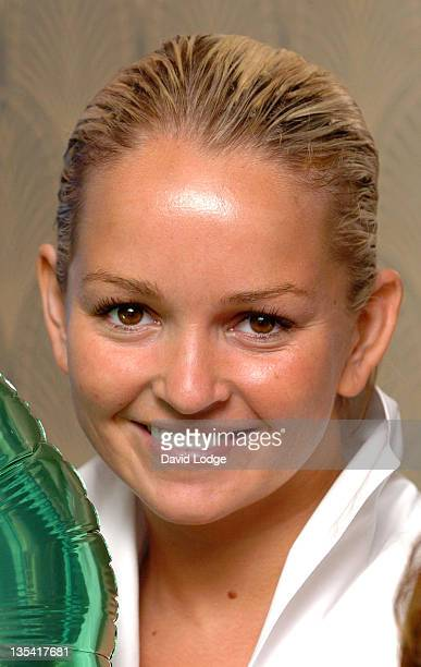 Jennifer Ellison during Kids Week In The West End Press Launch July 25 2006 at Coventry Street in London Great Britain