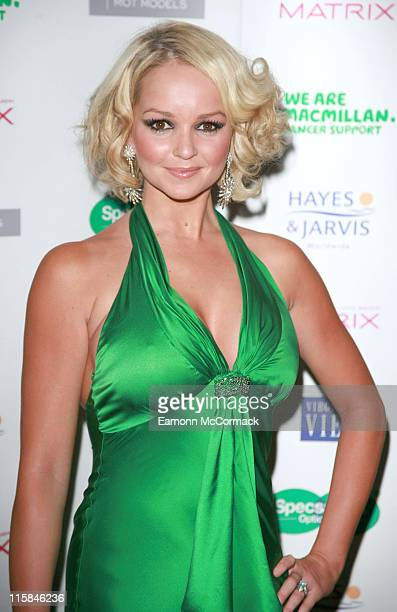 Jennifer Ellison during Specsavers Spectacle Wearer Of The Year 2006 Grand Final at Waldorf Hilton Hotel in London United Kingdom
