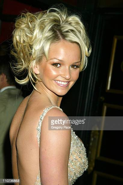 Jennifer Ellison during The Phantom of the Opera New York Premiere Inside Arrivals at Ziegfield Theater in New York City New York United States
