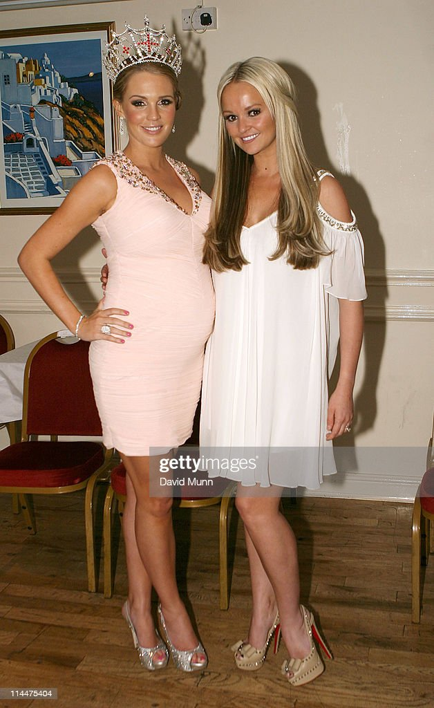 Danielle Lloyd Presented With New Miss England Crown : News Photo